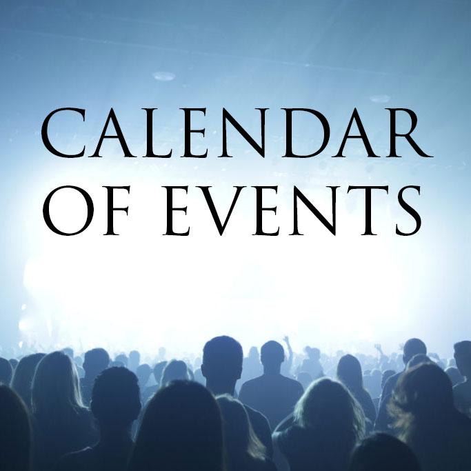 Christcity Events Calendar