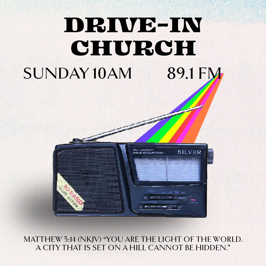 Drive In Church 10 AM
